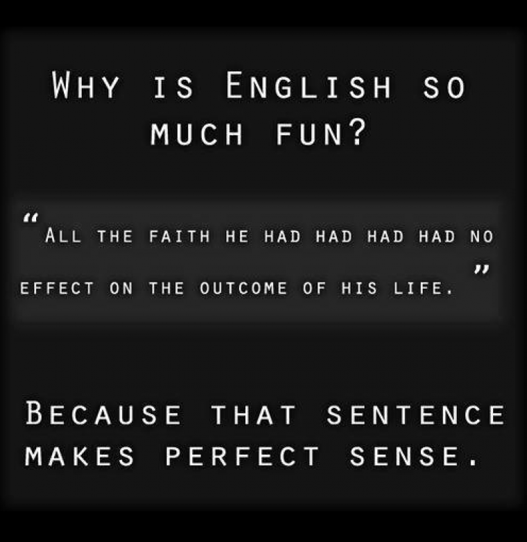 Grammarly, English, sentence Confusing Sentences That Actually Make Sense http://www.grammarly.com/blog/2014/confusing-sentences-actually-make-sense/ via @grammarly