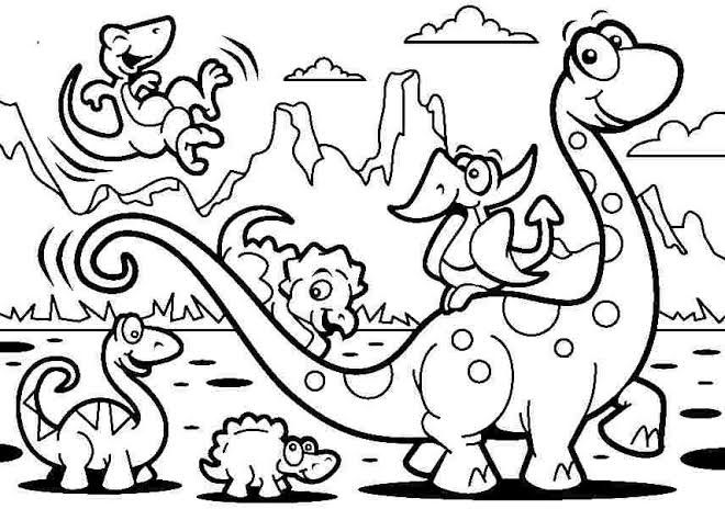 dinosaurier ausmalbilder zum ausdrucken | kinder für