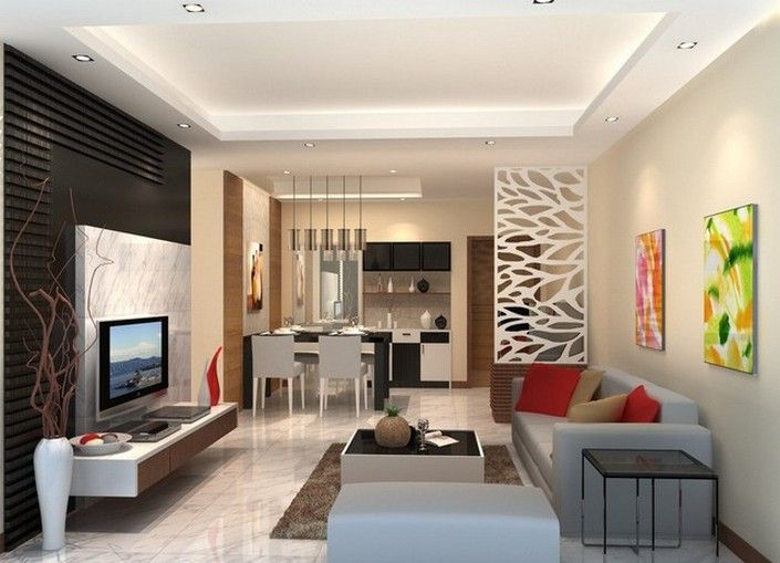 5 Amazing Living Room Ideas With Room Dividers Interior Design Living Room Small Interior Design Living Room Home Design Living Room