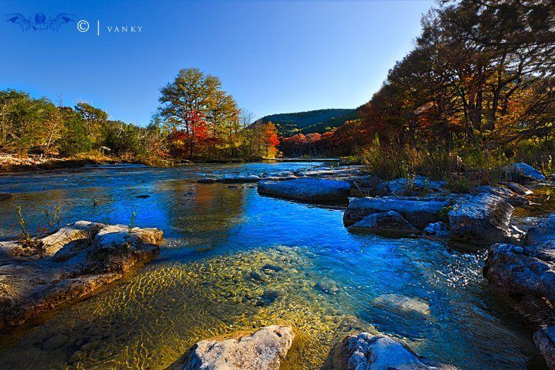 Garner State Park Frio RIver. Uvalde County, Texas ...