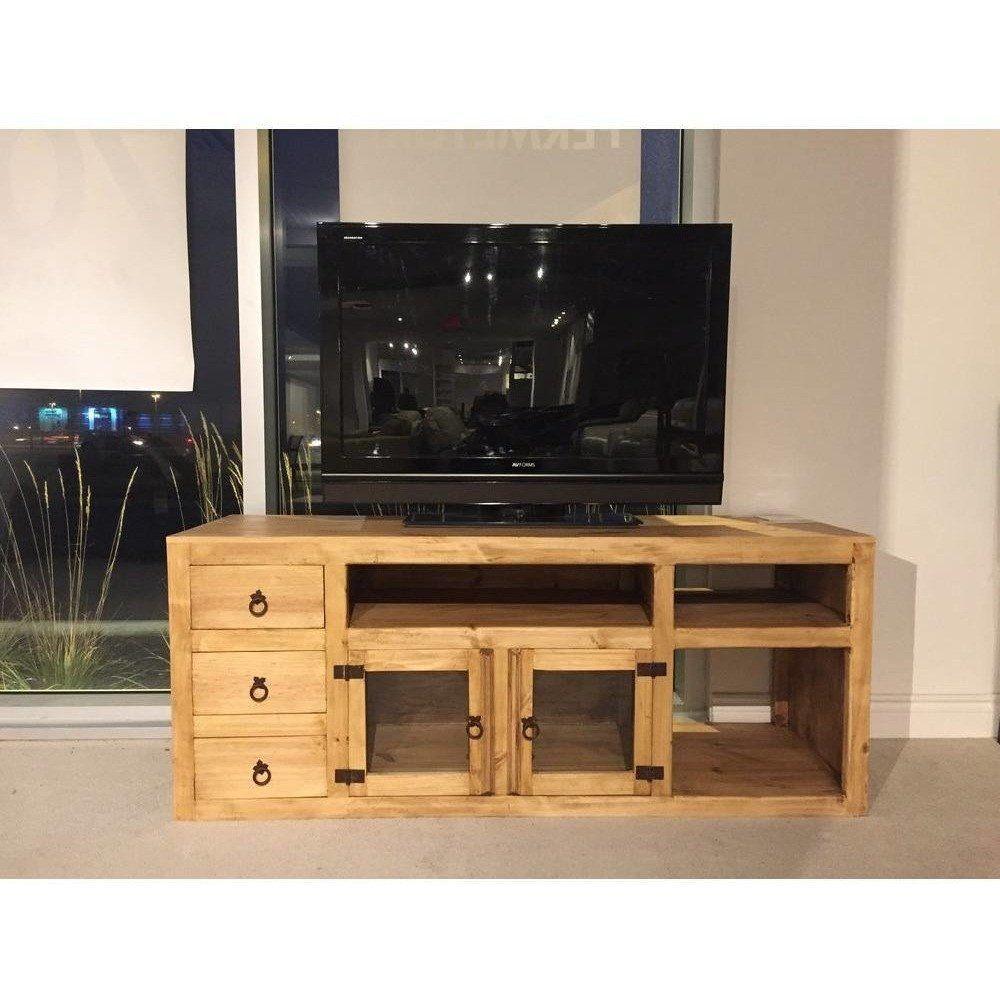 Rustic pine plasma tv stand with storage plasma tv stands plasma