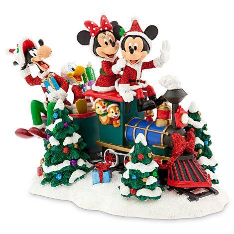 mickey minnie mouse christmas yard art trains