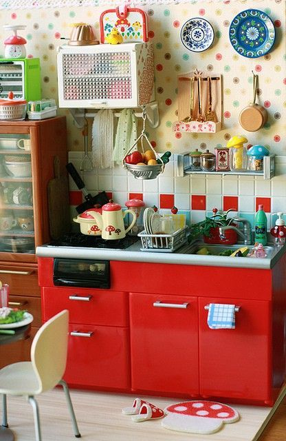 My red kitchenaid | Acessórios de cozinha, Utensílios de