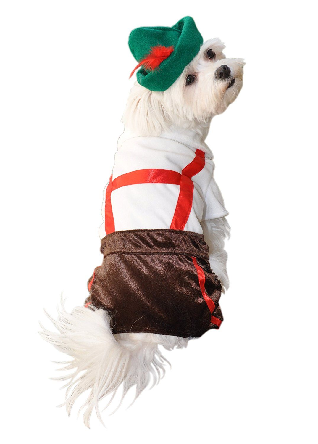 Anit Accessories Lederhosen Dog Costume 8 Inch New And