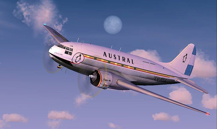 fotos de austral lineas aereas - Buscar con Google