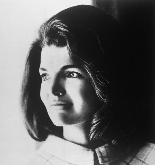 """""""I'm solitary.  I'm rather introverted.  I'm really glad my children have a sense of humor -- I think I'm a bit irreverent.""""    Jacqueline Kennedy Onassis"""