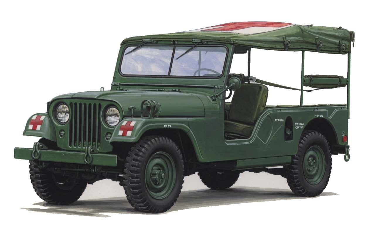 Jeep m 170 ambulance
