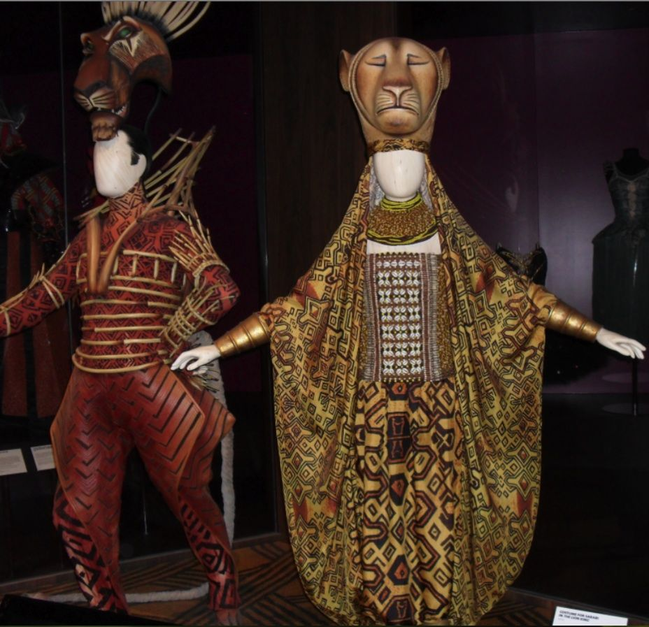 Lion king costumes designers julie taylor and michael