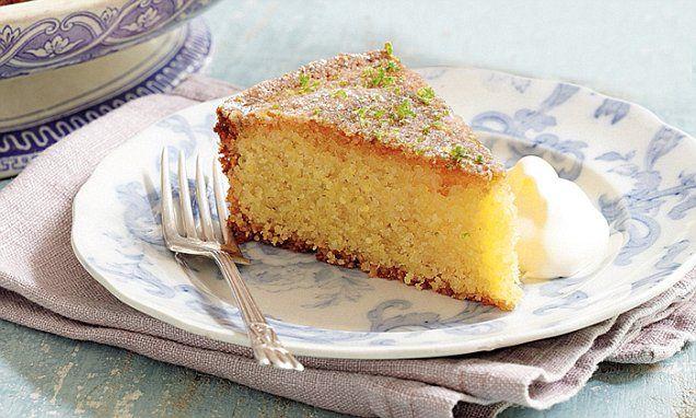 Lemon yoghurt cake recipe mary berry