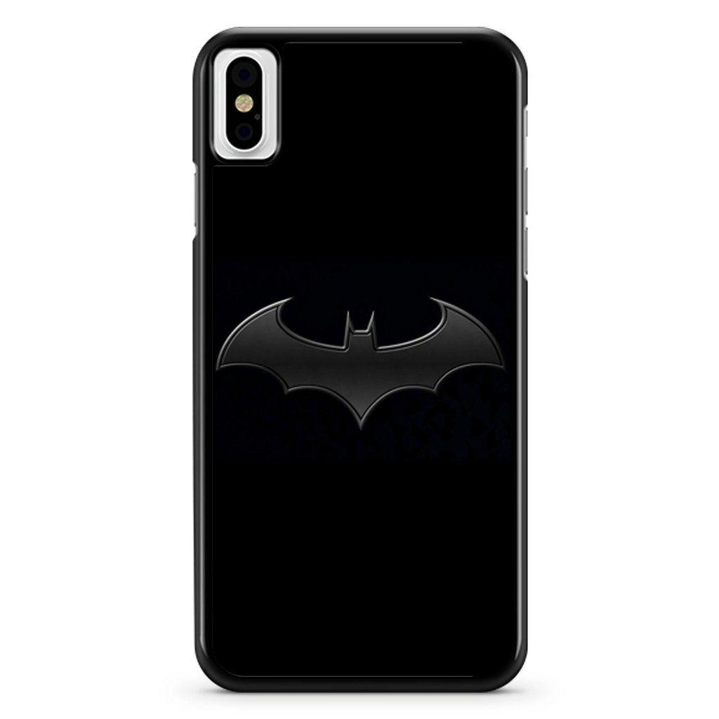 Batman Logo Wallpaper 1 iPhone X / XS / XR / XS Max Case