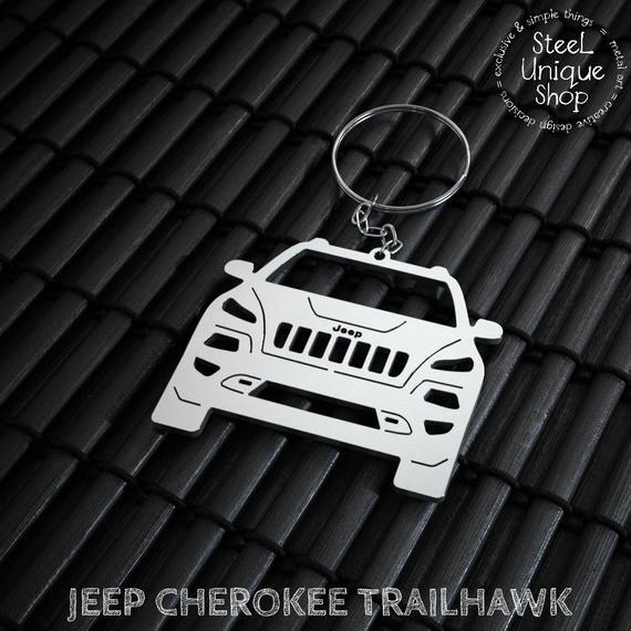 Jeep Cherokee Trailhawk Keychain Jeep Cherokee Trailhawk Jeep