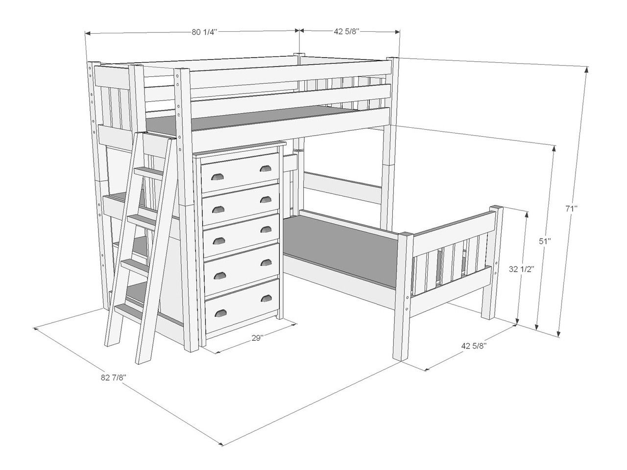 Dimensions Of L Shape Bunk Bed B243 L Shaped Bunk Beds Big Boy Room Bunk Beds