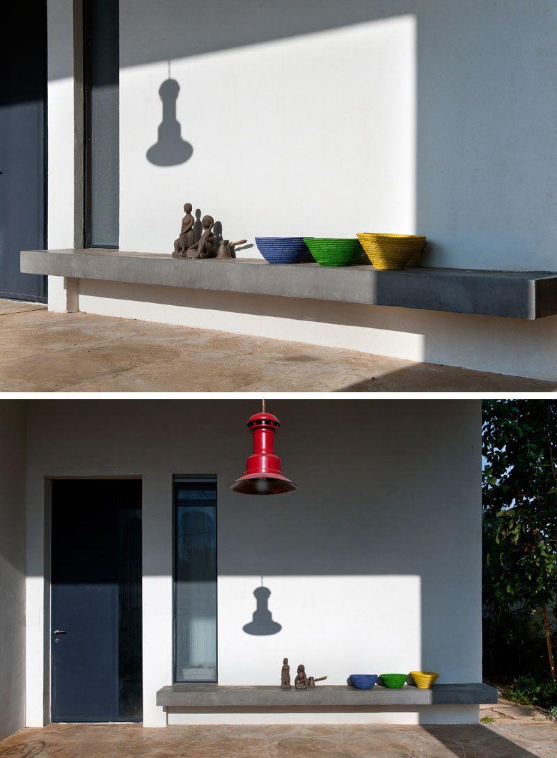 Design Detail – Exterior Built-In Window Seats | Decoração ...