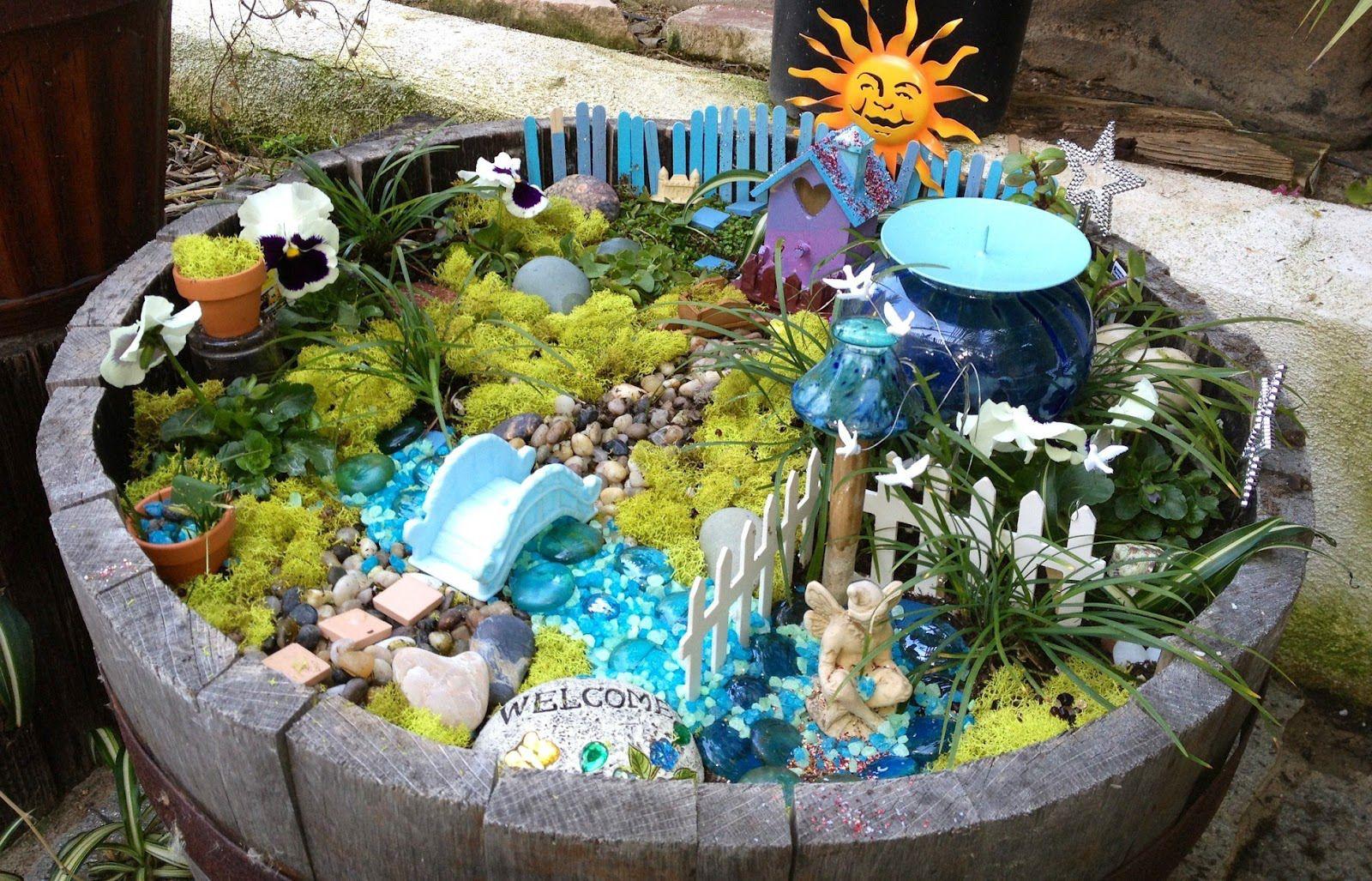 Fairy Garden Supplies In Canada. Fairy Garden Final Product | Garden ...