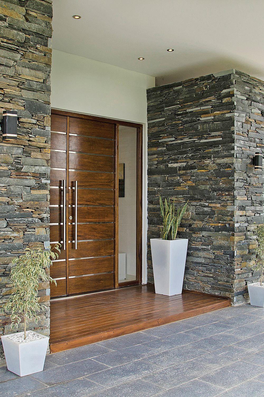 Estudio Farina Vazzano Casa 5 Entrada De Casas Modernas Fachada De Casas Bonitas Entradas De Casas