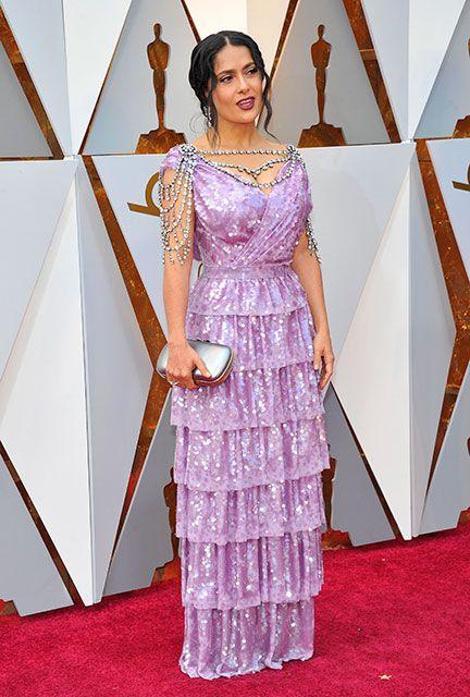 90. Academy Awards: Kleider von Prominenten des Roten Teppichs ...