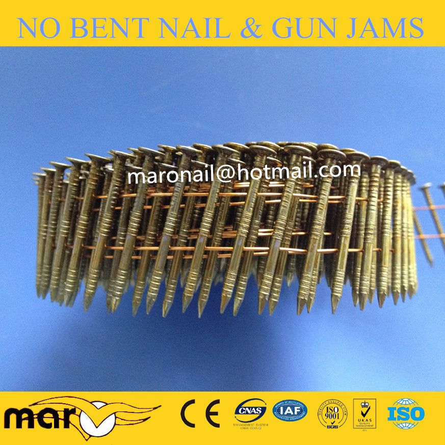 Cn90 Coil Nail Fence Nails Roofing Nails Galvanized Nails