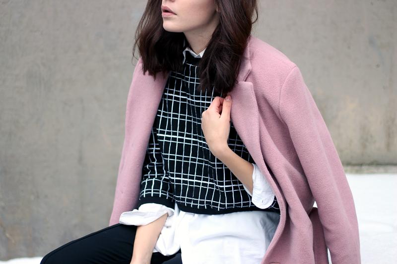 WST Pink Love Coat on Iida L. / Fashion Worries