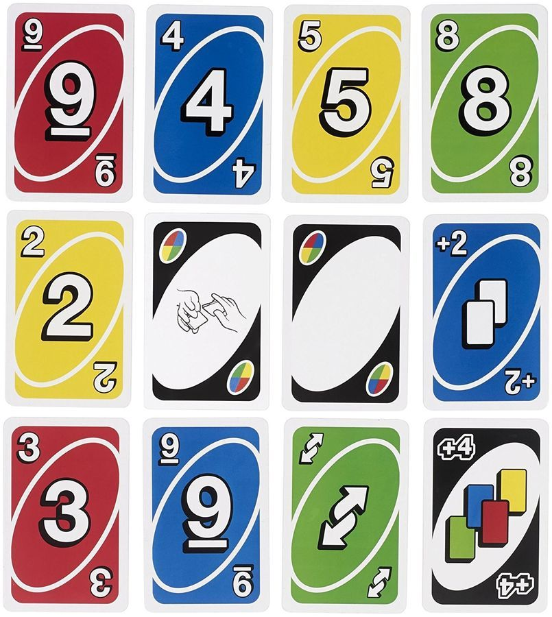 Jeu De Socia C Ta C Uno Classique 112 Cartes Get Wild 2 Joueurs A