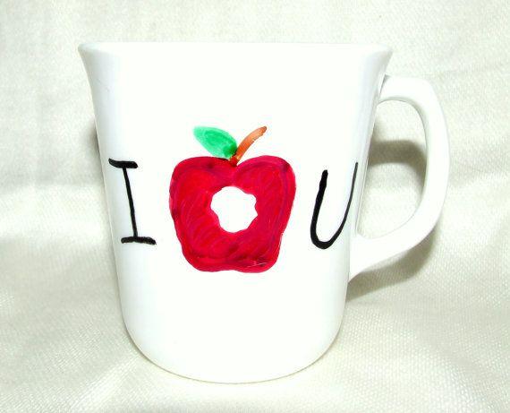 BBC Sherlock Moriarty Inspired Painted Mug I O U