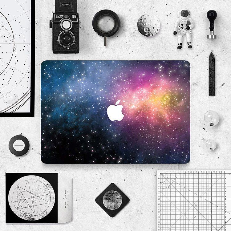 Macbook skin decal sticker deep space