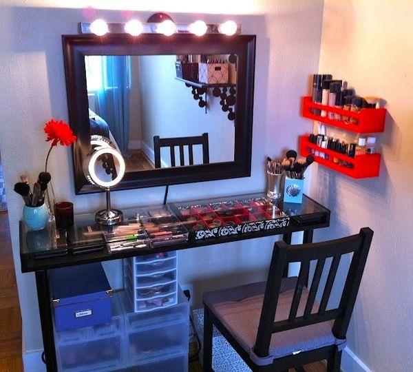 Bedrooms · Makeup Station Organization ...