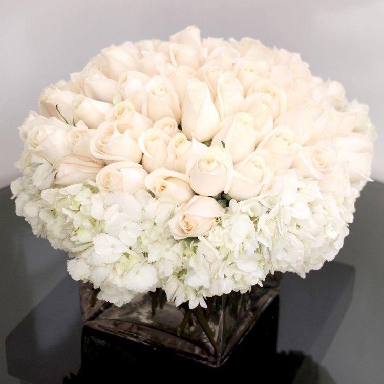 36 White Roses Rose Flower Arrangements Rose Floral Arrangements White Rose Flower