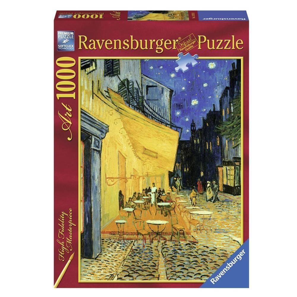 Rompecabezas Disea O Cafa C Terraza De Van Gogh Ravensburger 1000