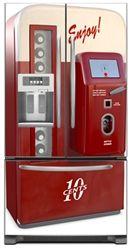 Bon Decorative Refrigerator Door Covers | Magnetic French Door Refrigerator  Covers | Art Magnet Skins, Covers .