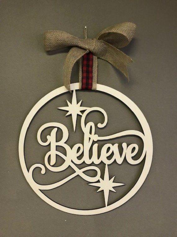 Large Christmas Ornament,Holiday Sign,Wall Sign,Christmas Decor,Wood Ornament