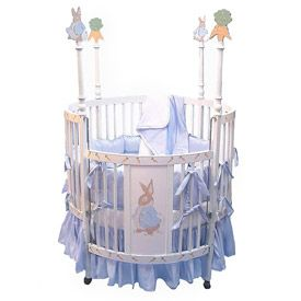Bunny Round Baby Crib At Luxurylamb For From Furniture Cribs Collection Affordable Prices