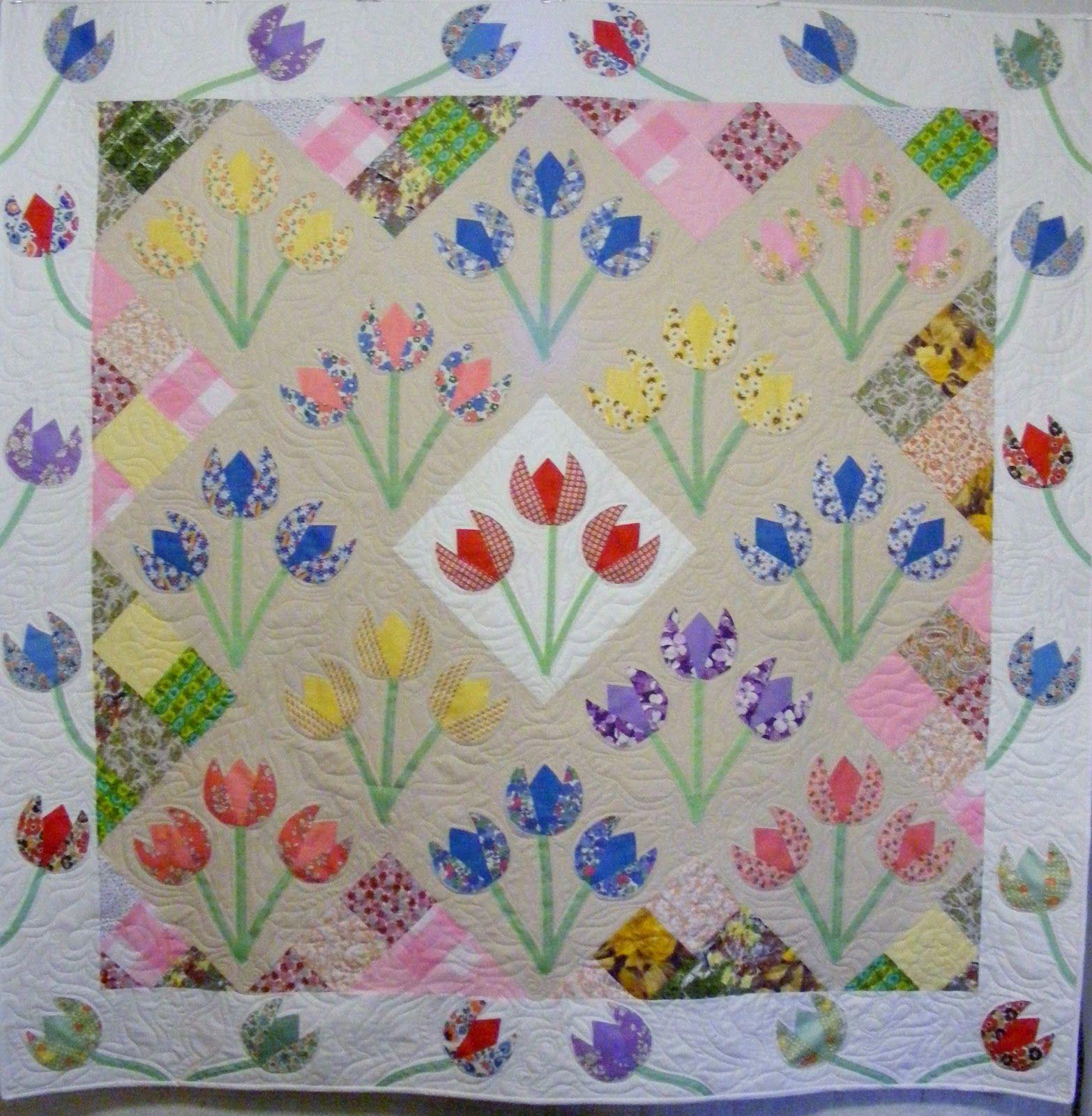 Tulip+finished.JPG (1566×1600) | quilt | Pinterest : tulip quilts - Adamdwight.com
