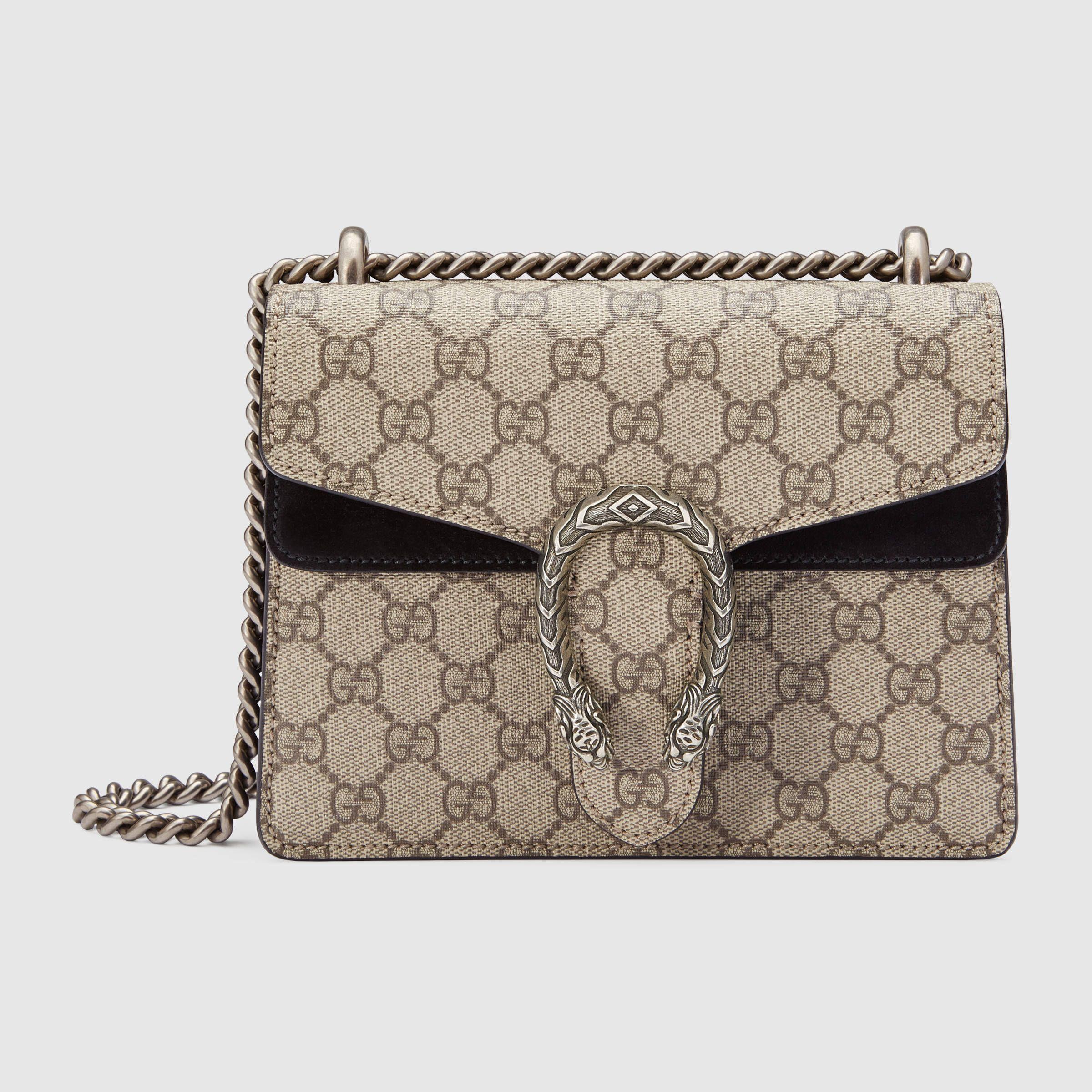 Dionysus GG Supreme mini bag in 2019 | Bags | Mini Bag ...