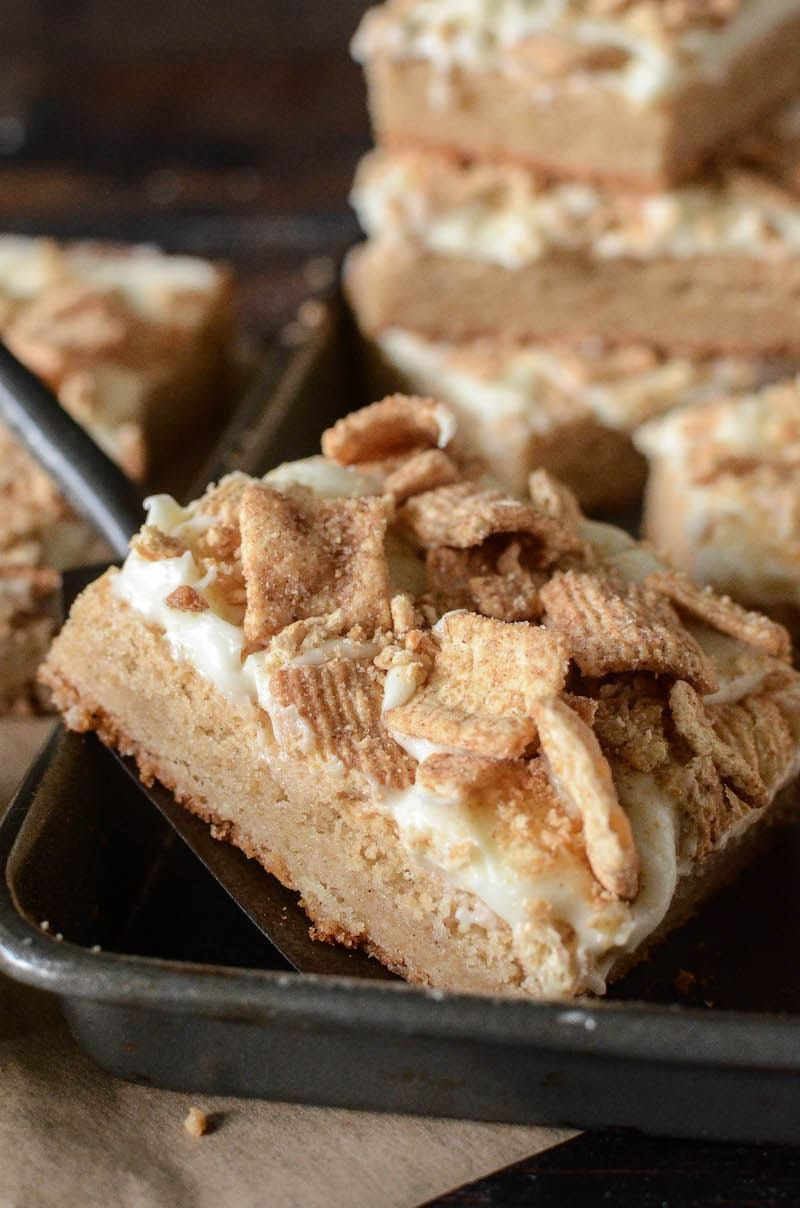 French Toast Cookie Bars | The Novice Chef