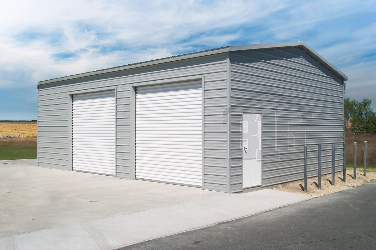 The Singapore 20x30x12 Big Buildings Direct In 2020 Garage Door Design Metal Building Prices Big Building