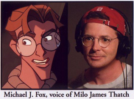 Michael J Fox In Atlantis The Lost Empire With Images
