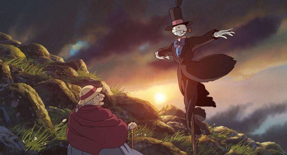 Смешные статусами, миядзаки картинки из мультфильма ходячий замок