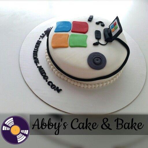 Computer S Cake Technology Cake Microsoft Cake Cake