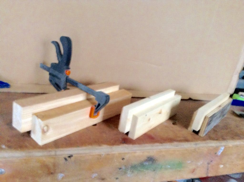 3.  Possibilities , Even plywood strips.