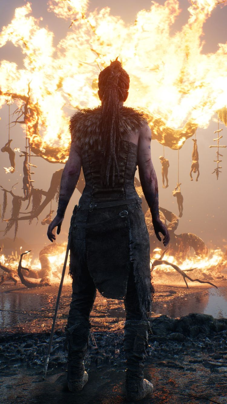 Hellblade senuas sacrifice wallpapers in ultra hd k in 2019 game wallpaper iphone video game - Sacrifice wallpaper ...