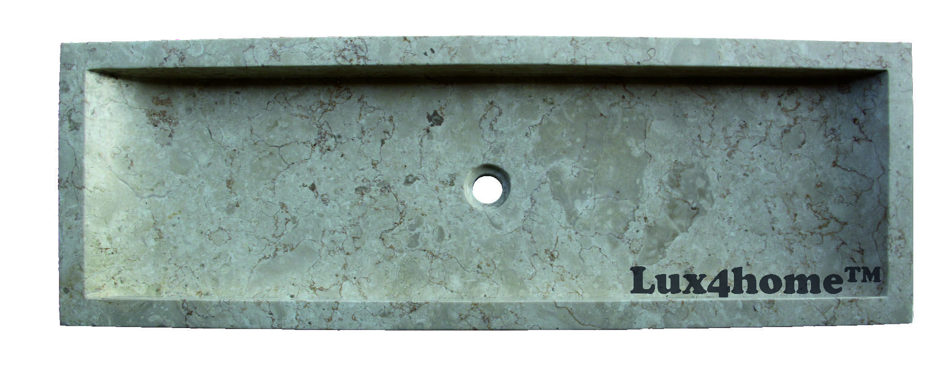 Marble Sinks Lavoir Smooth 120x40x10 cm - Lux4home™