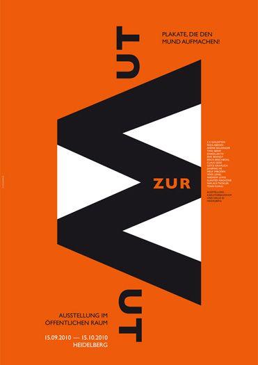 mutzurwut poster by götz gramlich