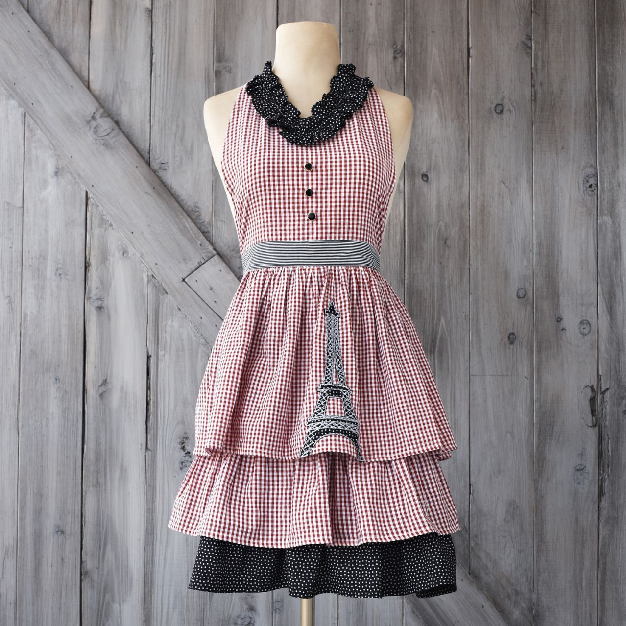 La Tour Eiffel Vintage Inspired Apron At Sur La Table Sew