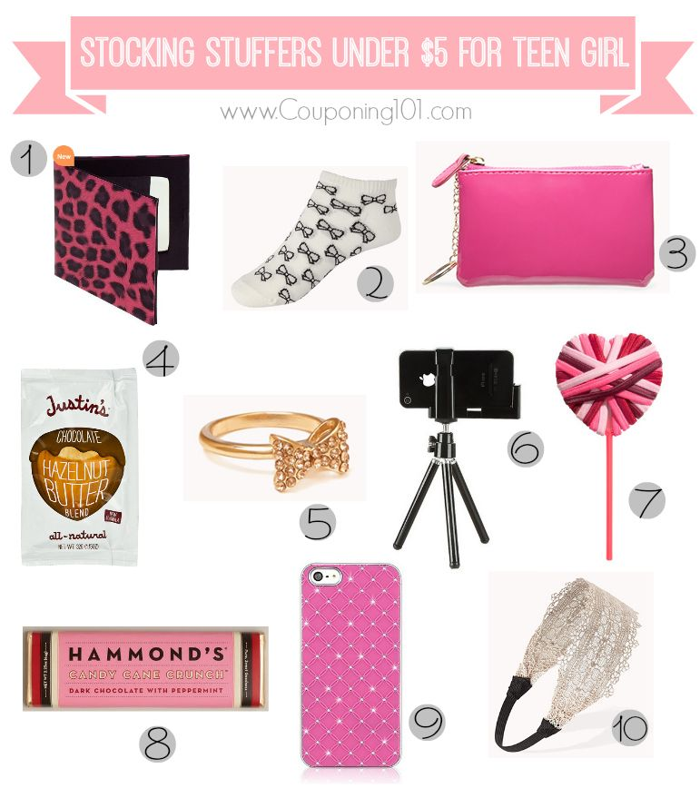 10 stocking stuffer ideas for teen girls for 5 or less stocking stuffers stockings and teen. Black Bedroom Furniture Sets. Home Design Ideas