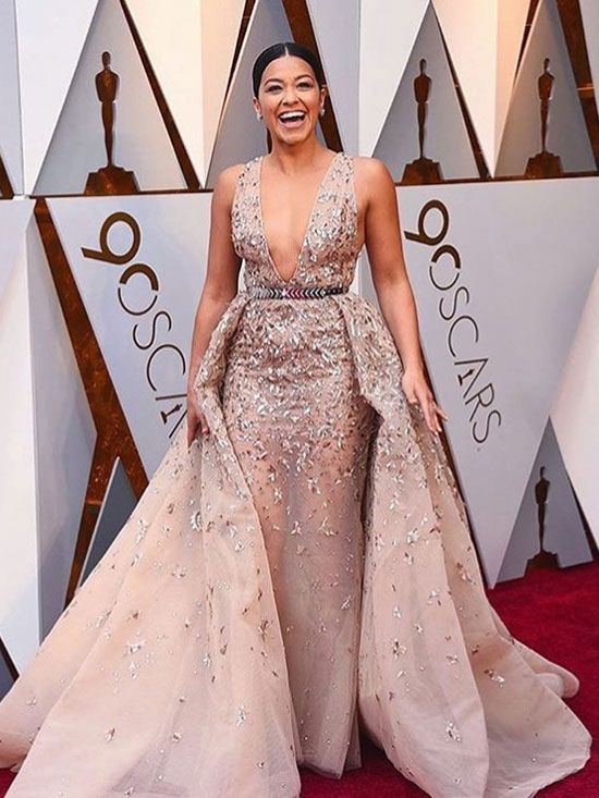 Our favorite red carpet looks at the oscars 2018 pinterest zuhair murad dresses gina - Oscars red carpet online ...