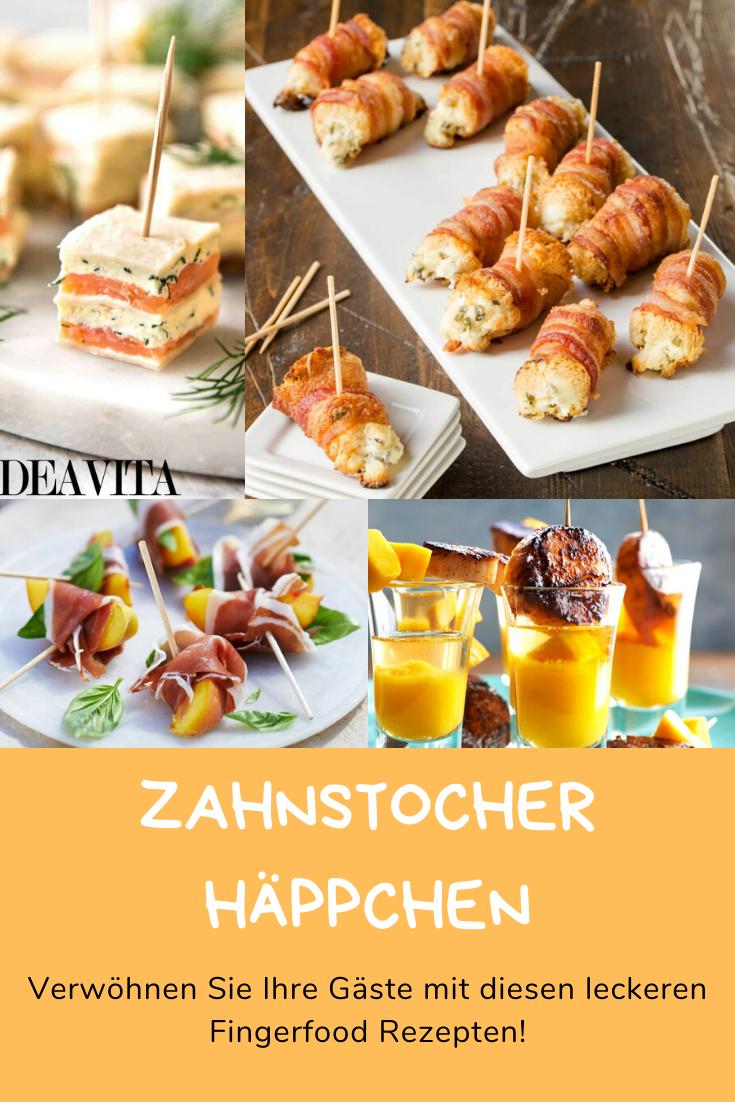 Photo of Zahnstocher Vorspeisen: Viele leckere Fingerfood-Rezepte für Ihre nächste Party!