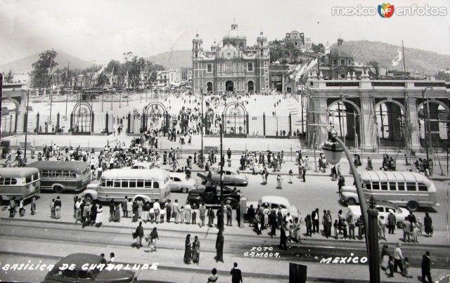 La Villa De Guadalupe Mexico D F A 209 O 1945 Ciudad De