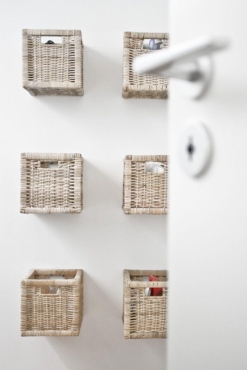 k rbe an der wand ikea mal anders eigene bilder pinterest bad k rbe an wand und wandkorb. Black Bedroom Furniture Sets. Home Design Ideas