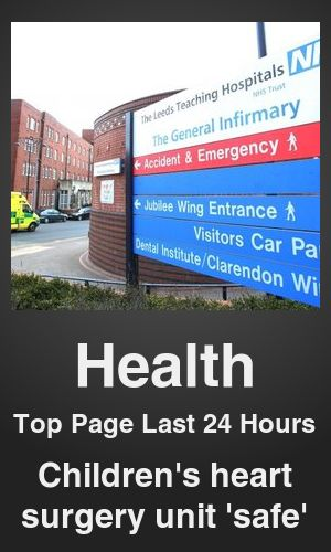 Top Health link on telezkope.com. With a score of 1237. --- Children's heart surgery unit 'safe'. --- #health --- Brought to you by telezkope.com - socially ranked goodness