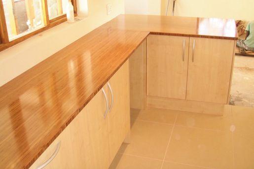 Bamboo Flooring Countertop Design